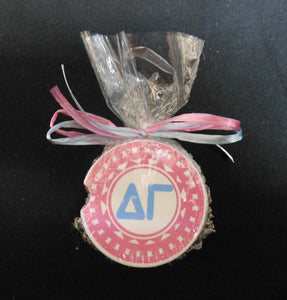 DELTA GAMMA CAR COASTER SET