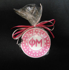 PHI MU CAR COASTER SET