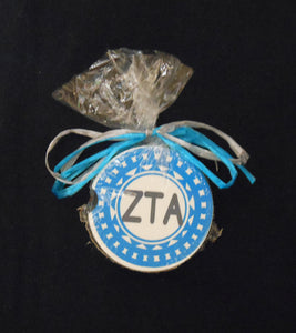 ZETA TAU ALPHA CAR COASTER SET