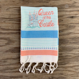 QUEEN OF THIS CASTLE HAND TOWEL
