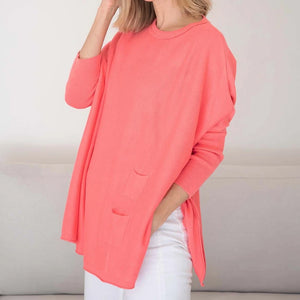 CATALINA SWEATER CORAL