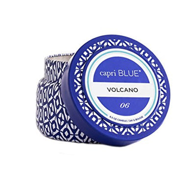 VOLCANO NO 6 CANDLE TRAVEL TIN
