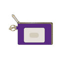 ID CASE PURPLE AND GOLD