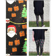 COVID CHRISTMAS LEGGINGS