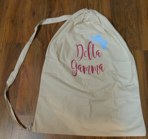 DELTA GAMMA LAUNDRY BAG