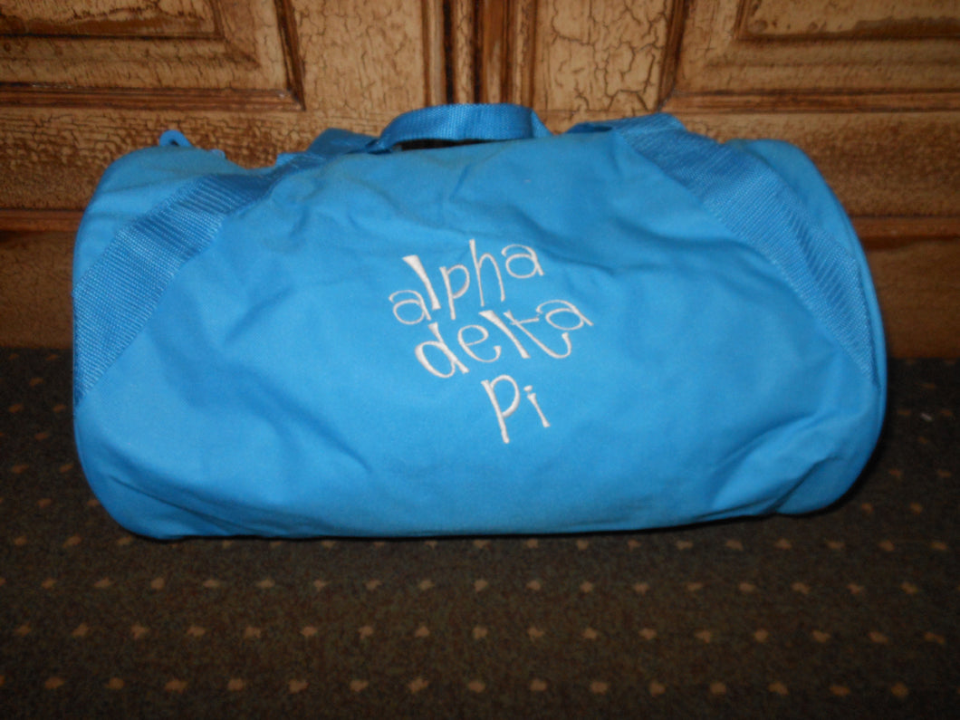 ALPHA DELTA PI DUFFEL BAG