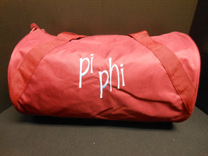 PI BETA PHI DUFFEL BAG