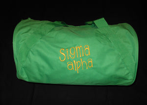 SIGMA ALPHA DUFFEL BAG