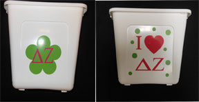 DELTA ZETA TRASH CAN