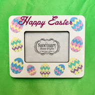 HAPPY EASTER SUBLIMATION FRAME