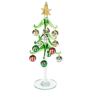 MULTICOLORED BALL ORNAMENT TREE LARGE