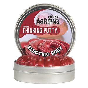 ELECTRIC RUBY THINKING PUTTY MINI
