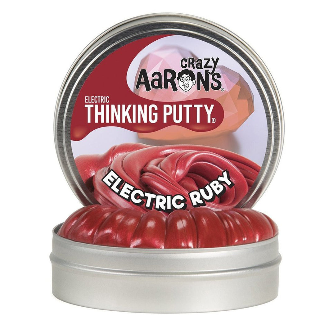 ELECTRIC RUBY MINI THINKING PUTTY