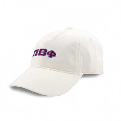 PI BETA PHI NEEDLEPOINT HAT
