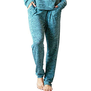JERSEY PAJAMA PANTS GREEN