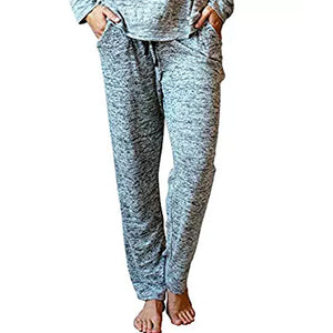 JERSEY PAJAMA PANTS GREY