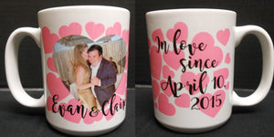 PERSONALIZED IN LOVE MUG