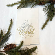 JOY TO THE WORLD HAND TOWEL