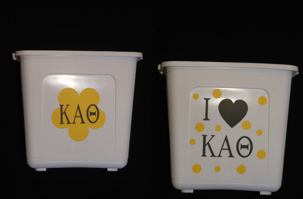 KAPPA ALPHA THETA TRASH CAN