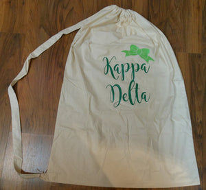 KAPPA DELTA LAUNDRY BAG