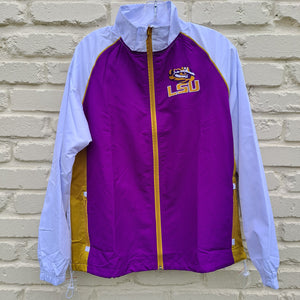 MENS LOUISIANA STATE UNIVERSITY TWO TONE JACKET XXL