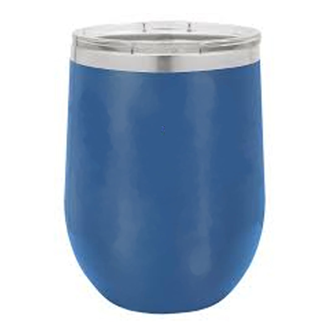 12 OZ BLUE STEMLESS WINE TUMBLER