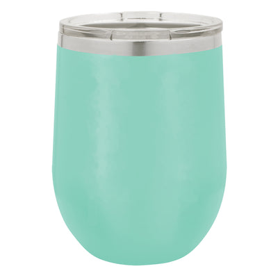 12 OZ TEAL STEMLESS WINE TUMBLER