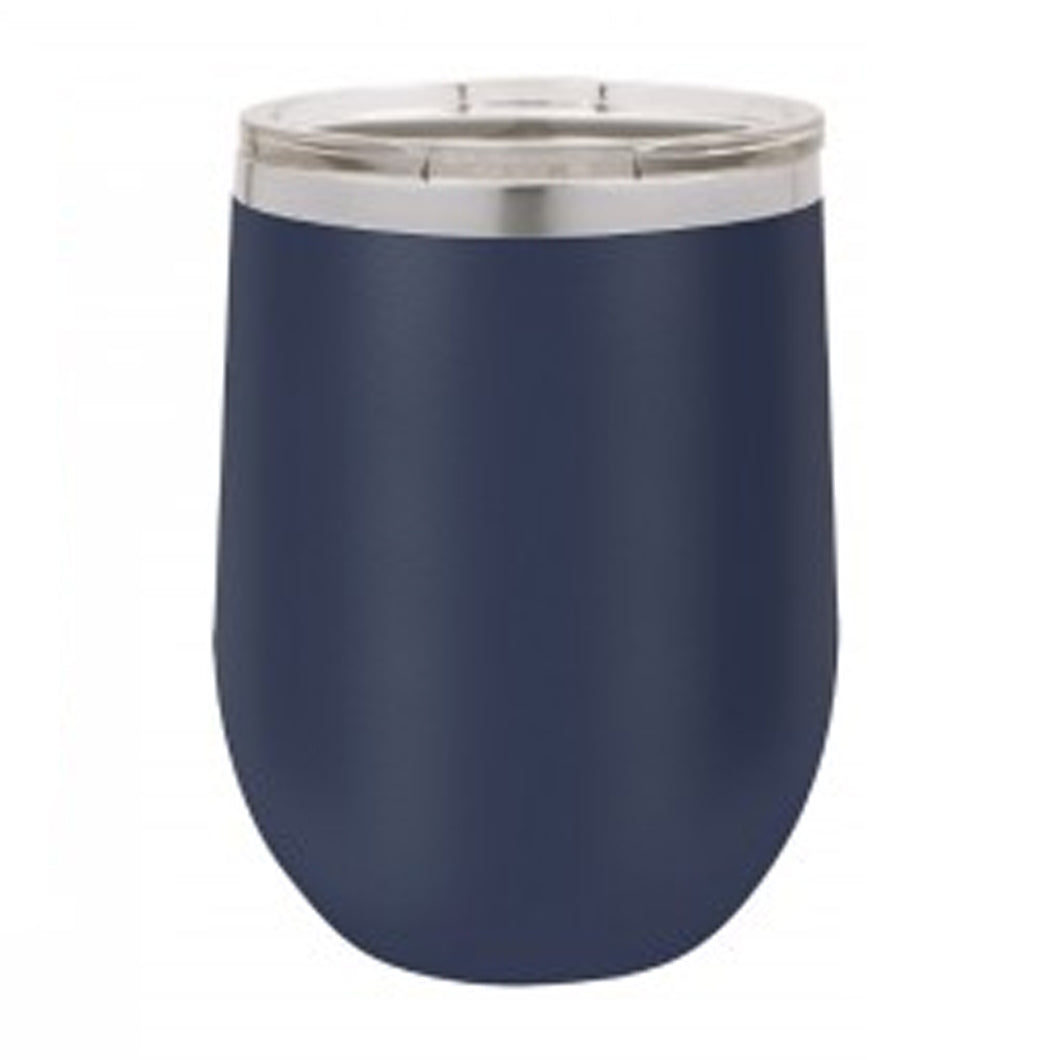 12 OZ NAVY STEMLESS WINE TUMBLER