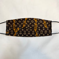 NON MEDICAL FACE MASK LV BROWN