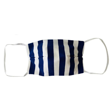 KIDS NON MEDICAL FACE MASK NAVY STRIPES