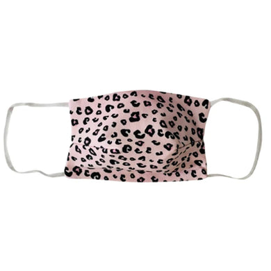 KIDS NON MEDICAL FACE MASK PINK CHEETAH