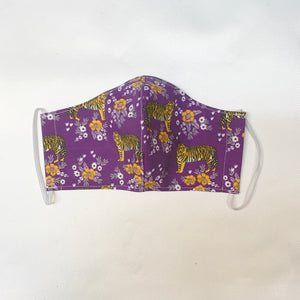 NON MEDICAL FACE MASK STYLE 2 FLORAL TIGER
