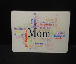 MOM CUTTING BOARD