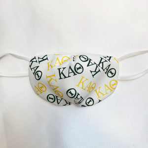 NON MEDICAL FASHION FACE MASK STYLE 1 KAPPA ALPHA THETA