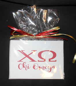 CHI OMEGA NOTECARDS