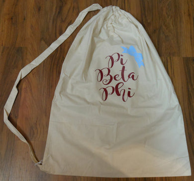 PI BETA PHI LAUNDRY BAG