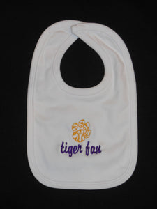 TIGER FAN BABY BIB