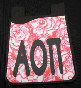 ALPHA OMICRON PI PHONE WALLET