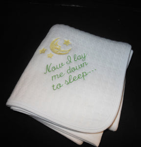 LAY ME DOWN TO SLEEP BABY BLANKET