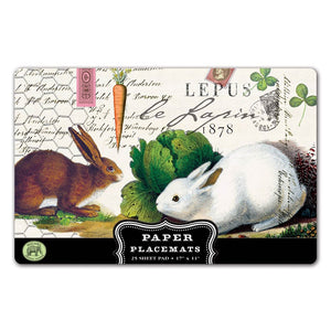 BUNNY PAPER PLACEMATS