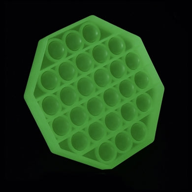 POP FIDGETY OCTAGON GLOW IN THE DARK