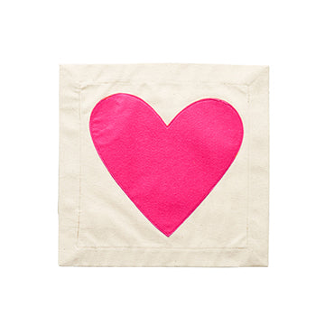 HEART PILLOW PATCH