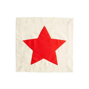 STAR PILLOW PATCH
