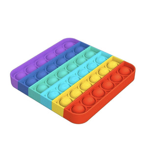 POP FIDGETY SQUARE RAINBOW