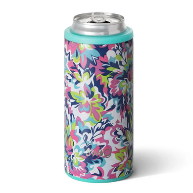 12 OZ SKINNY CAN COOLER FRILLY LILLY