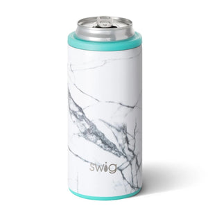 12 OZ SKINNY CAN COOLER MARBLE SLAB