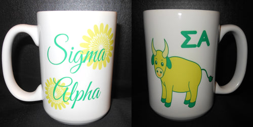 SIGMA ALPHA COFFEE MUG
