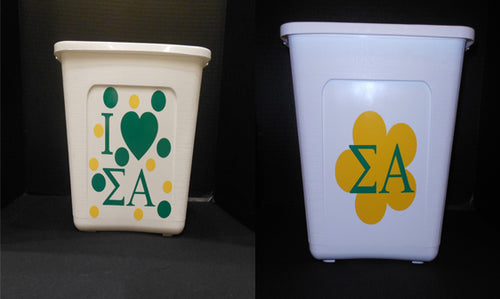 SIGMA ALPHA TRASH CAN