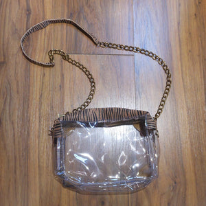 SOPHIE TIGER CLEAR PURSE