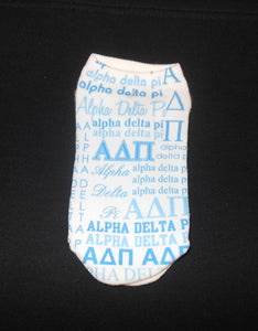ALPHA DELTA PI SOCKS